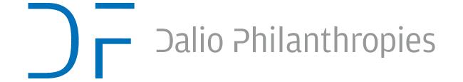 The Dalio Foundation